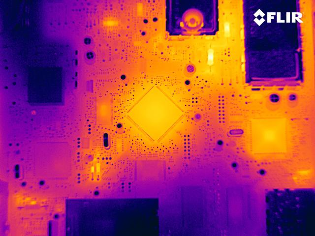640x480 uncooled bolometer a655sc pcb
