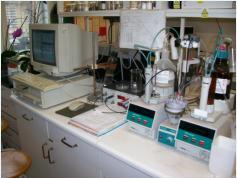 Gimet1 home built potentiometric acid base titration system