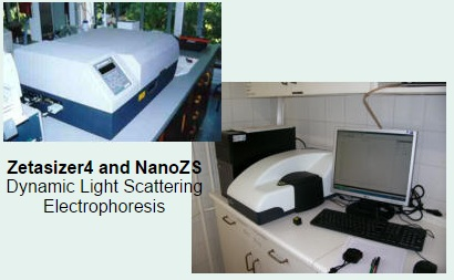 Zetasizer4 and nanozs